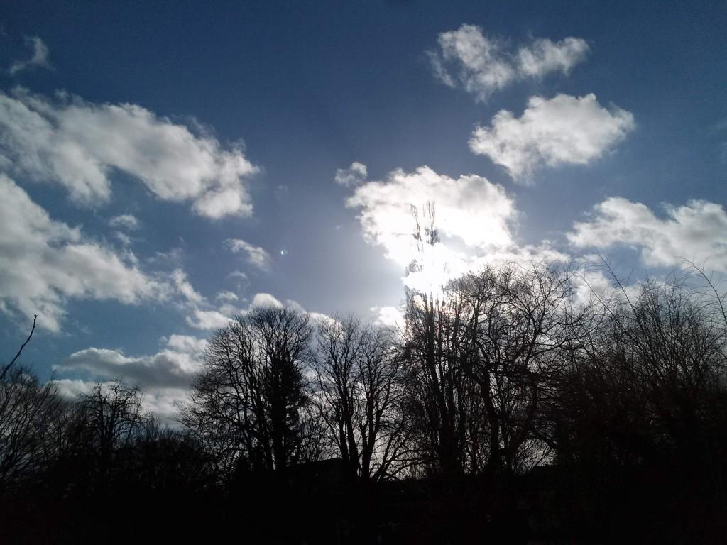 LG G Pad 8.3 Himmel